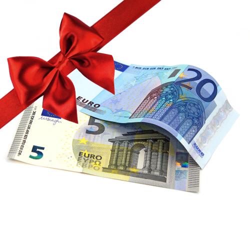 Wertgutschein 25 Euro